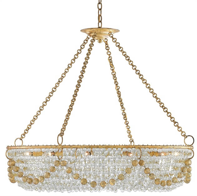 Aubade Chandelier by Currey & Co. from Ferguson Bath, Kitchen & Lighting Gallery, suite 101 at the IDC