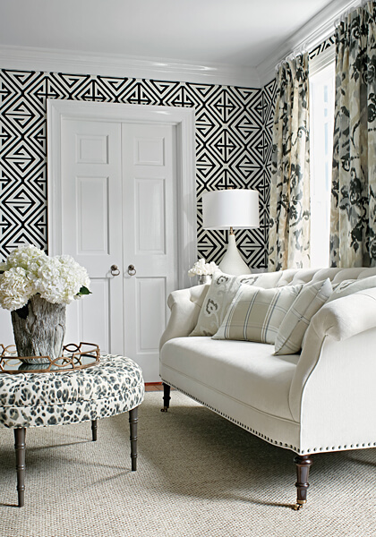 Bridgehamptom Demetrius wallcovering by Thibaut available through a design professional at The Trade Source, suite 226 at the IDC.
