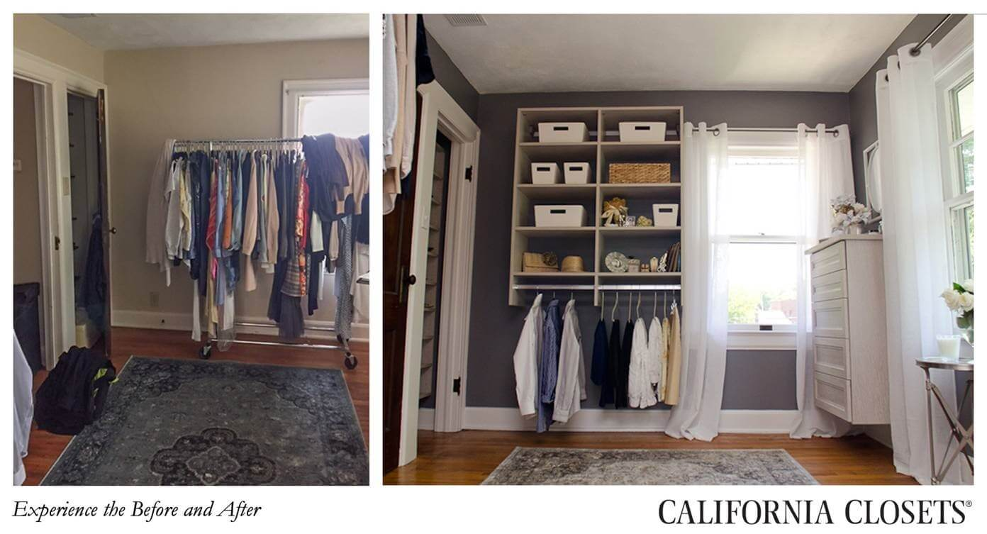 Guest blog small spaces big storage solutions by for Storage solutions for small closets