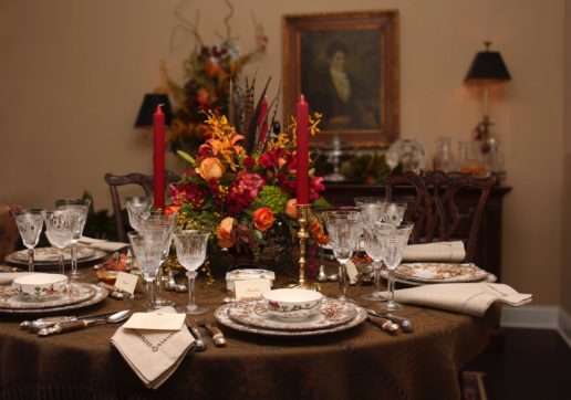 david jackson thanksgiving tablescape