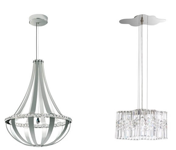 Crystal Empire chandelier and Selene pendant by Swarovski available at Ferguson Bath Kitchen u0026 Lighting Gallery.  sc 1 st  Indiana Design Center & LIGHTING MARKET REPORT: Let It Shine azcodes.com