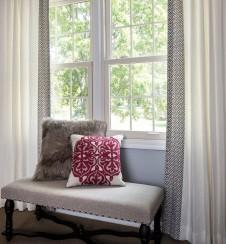 Window treatments by Drapery Street