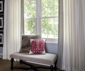 Window treatments by Drapery Street