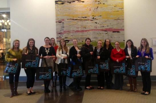 Seniors in the IU Interior Design Program Visit the IDC
