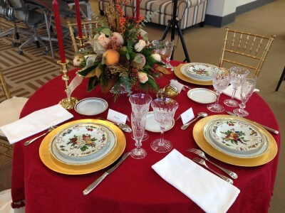 Holiday Table by David Jackson 2