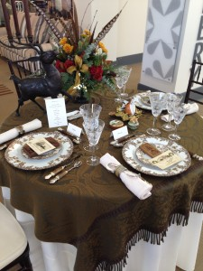 Holiday table by David Jackson 4