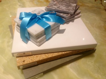 Stone Coasters and Cheese Boards from Santarossa