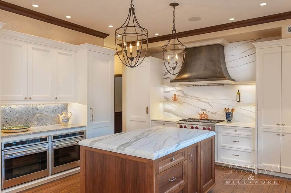 Design by Conceptual Kitchens & Millwork.