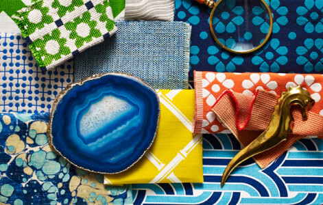 Jonathan Adler for Kravet Collections available through The Trade Source.