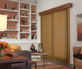 Graber Fabric Vertical Livingroom