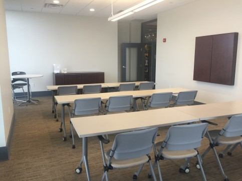 Large conference room.
