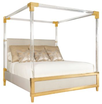 Bernhardt Aiden Canopy bed.