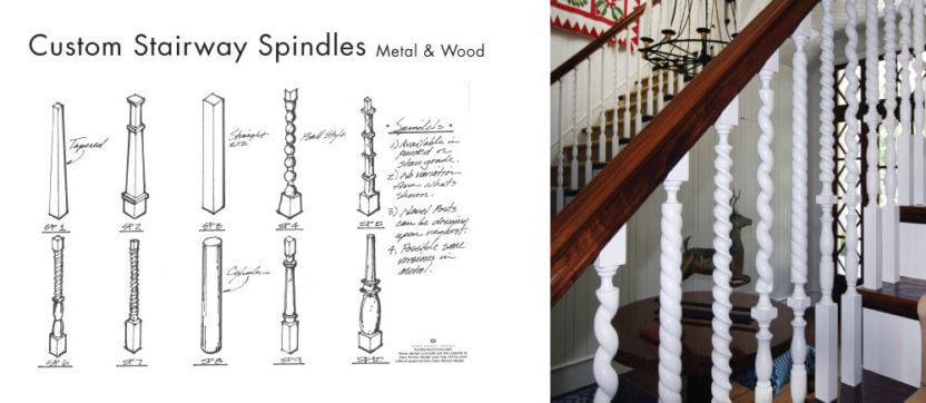 stairway-spindles