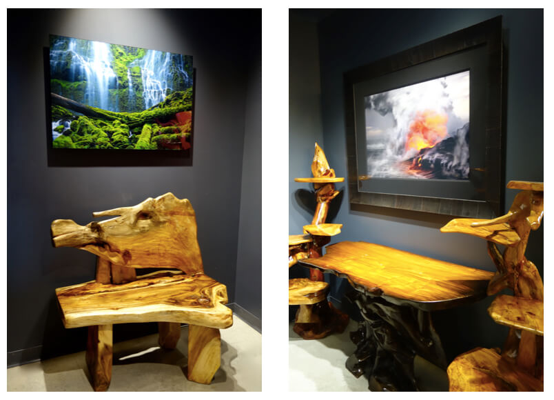 Fine Art Photography And Eco Friendly Furniture Paired With Fine Art  Photography At MARTIN Gallery