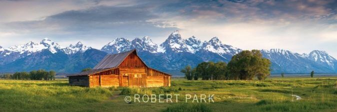 """Frontier Life"" Grand Tetons National Park, WY. (2009)"