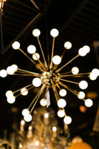 Modern statement lighting from Ferguson