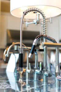 Dornbracht kitchen faucets at Ferguson