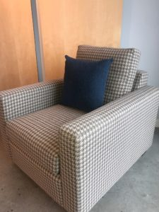 Houndstooth chair by Outre furniture.