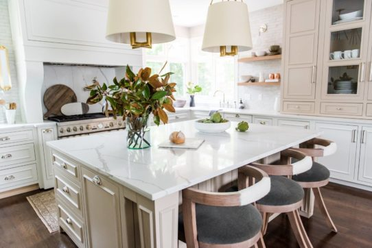 Two Tones Of Cabinets Play Nicely In This Kitchen By Whittney Parkinson  Design.
