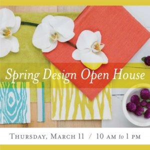 Spring Design Open House